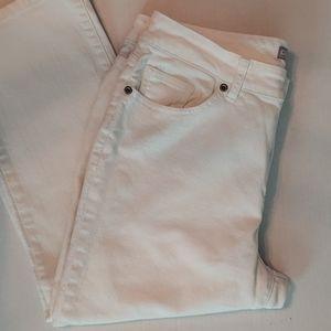 Chico's   Women's Platinum 5 Pocket Jeans Sz 12